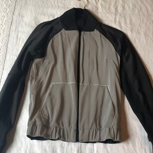 Lululemon RARE Reflective Bright Bomber Jacket